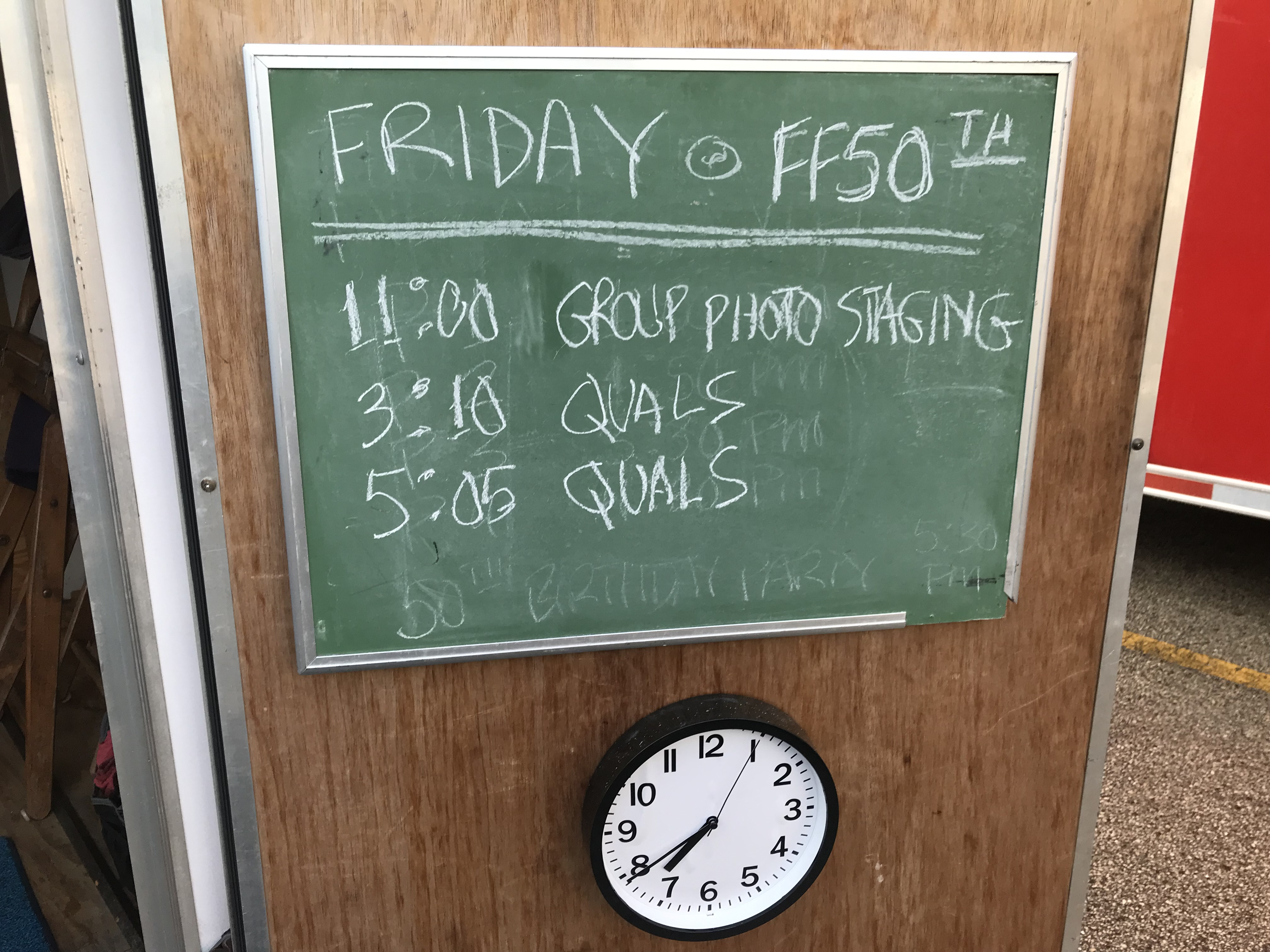 FF50th Friday Schedule