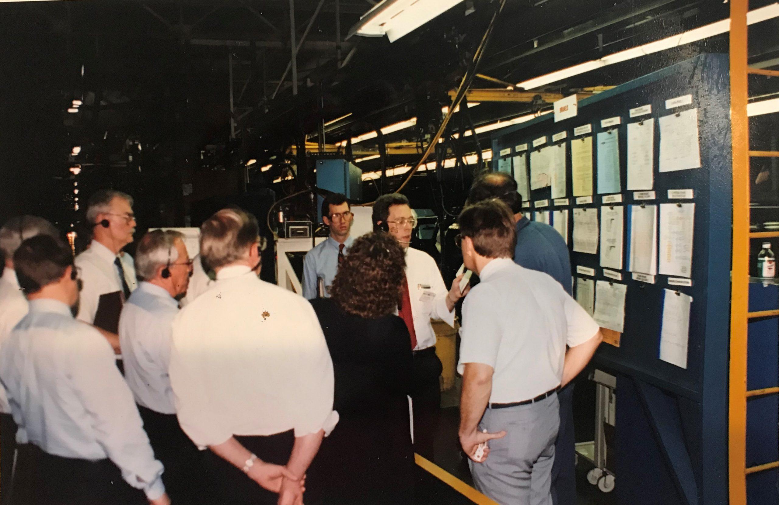 Mementos Steve Beeler LAP Process Capability Reviewe circa 1991