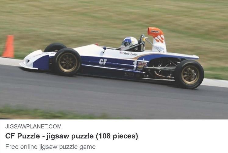 Steve Beeler Lola T-540 Formula Ford Jigsaw Puzzle
