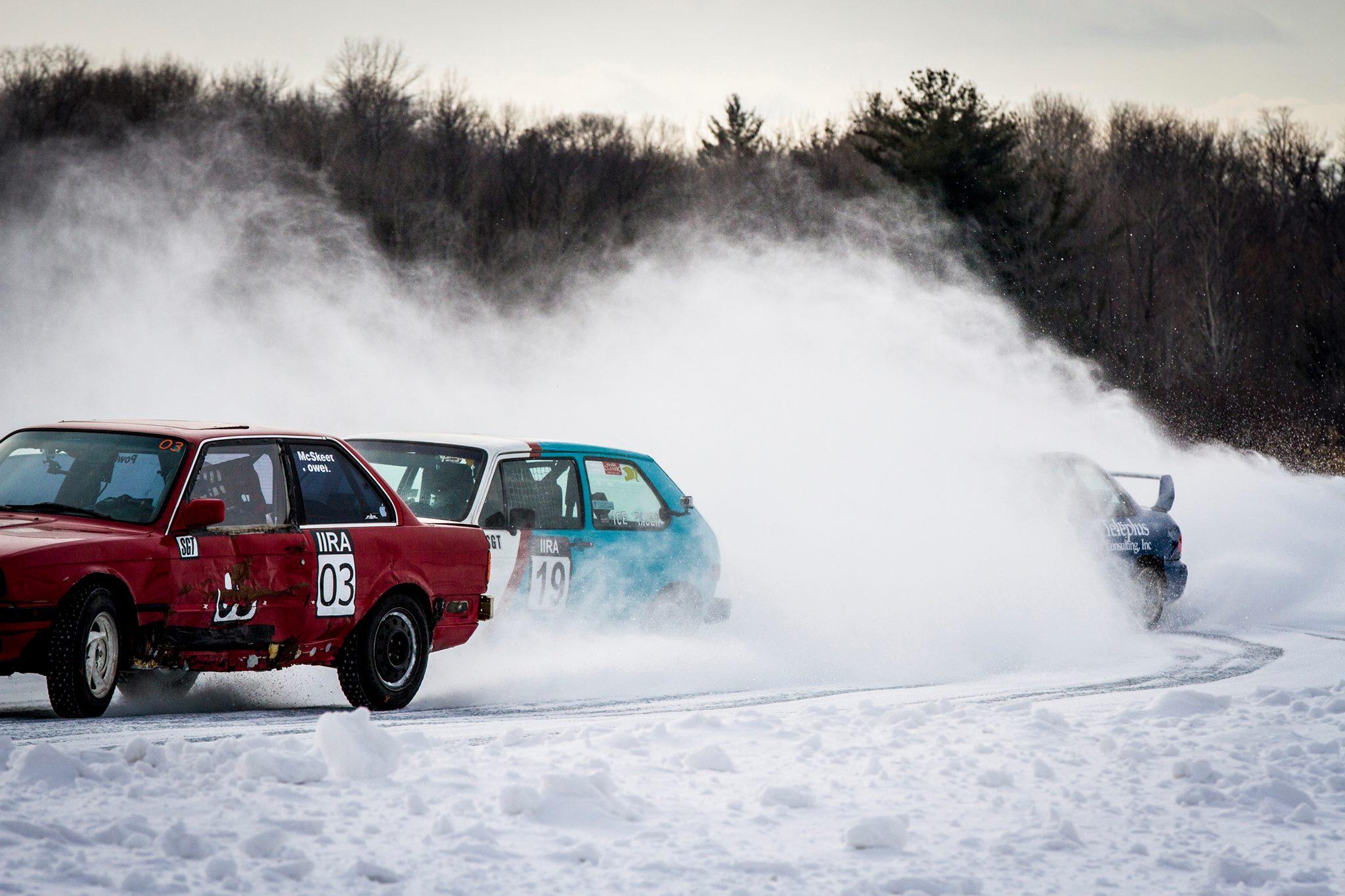 ice racing hard ice